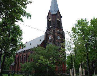 Kościół Zbawiciela - lato